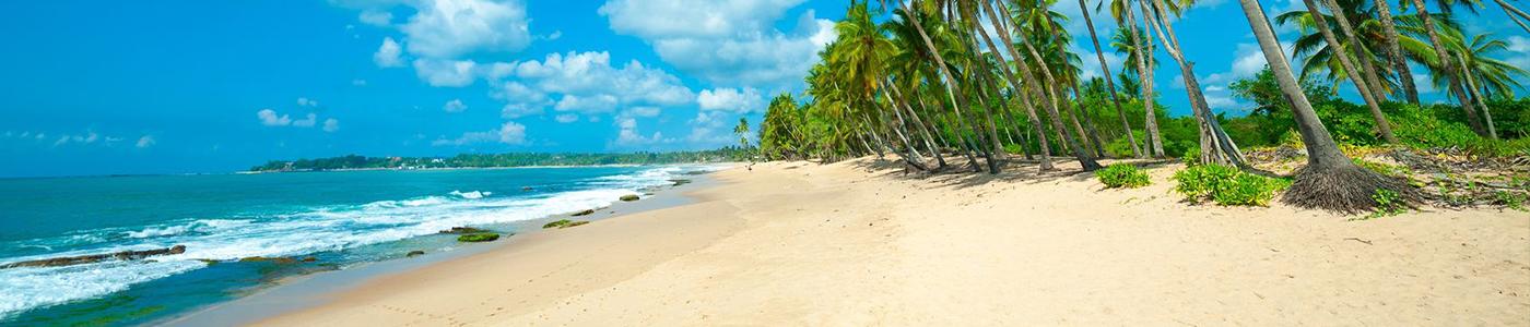 Magnificent beaches in Southern coast Sri Lanka