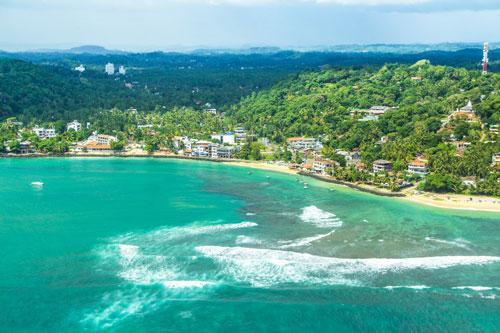 Magnificent beaches in Sri Lanka