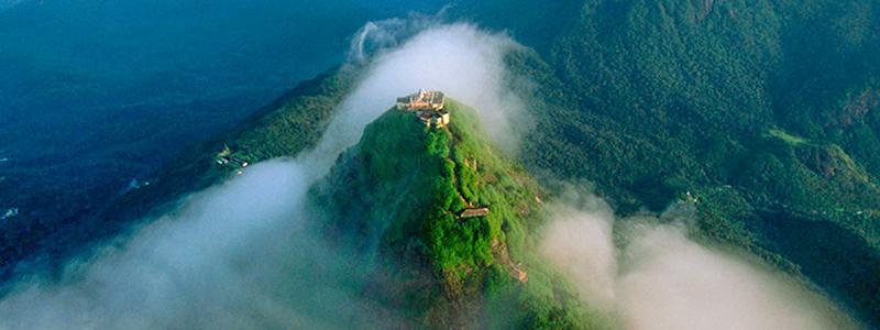 Aerial View of Adam's Peak
