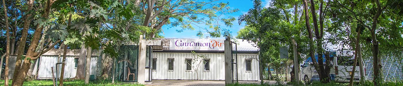 Cinnamon Air domestic terminal
