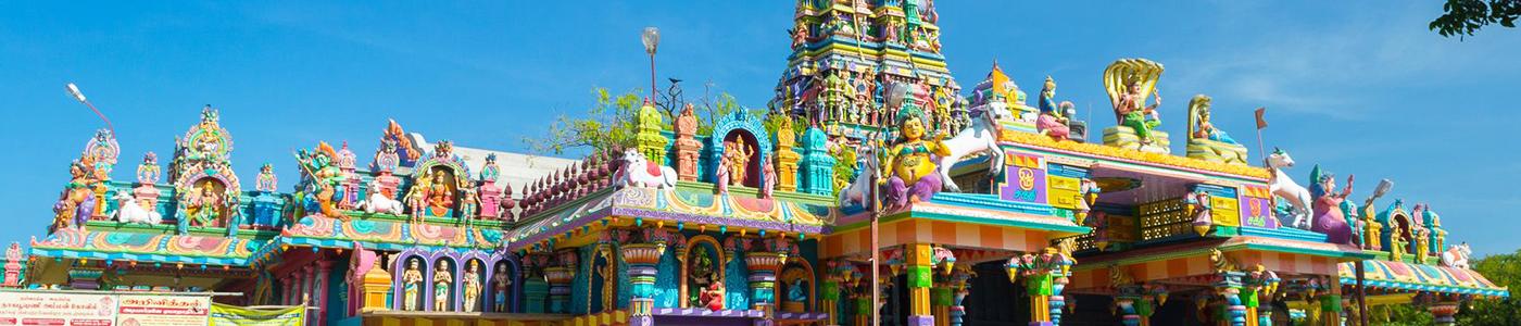 Nainativu Nagapooshani Amman Temple in Jaffna