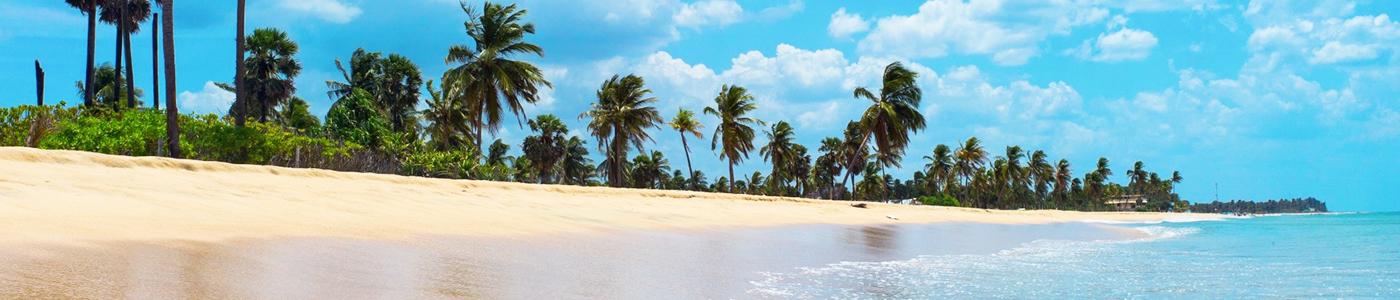 Nilaveli Beach in Trincomalee, Sri Lanka