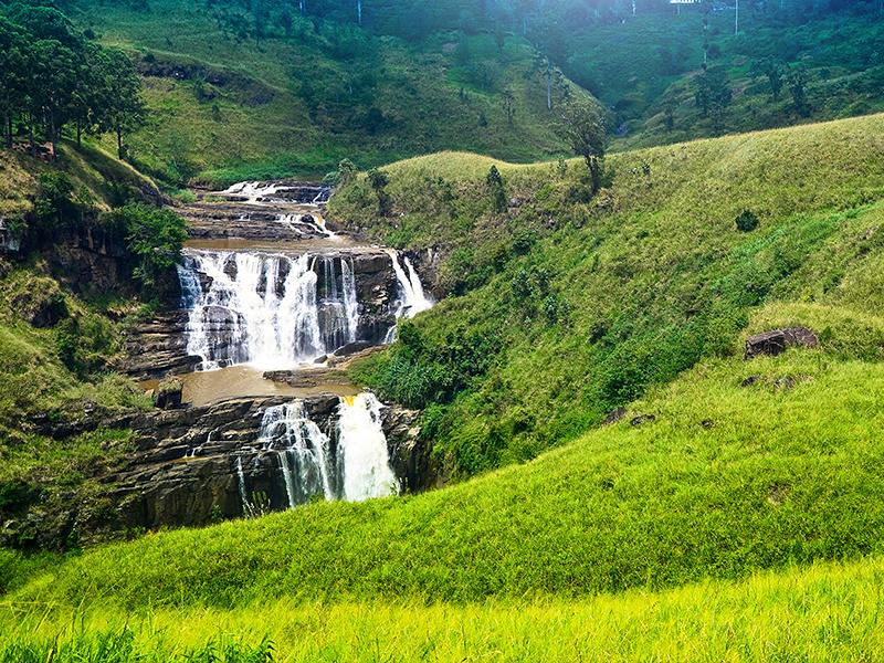 St. Clair's Falls in Nuwara Eliya